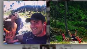 Chris Hyndman's mother thinks he died sleepwalking