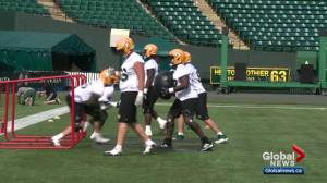 Eskimos hope to be a physical force when they face Stampeders in Calgary