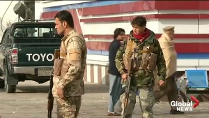 Afghans struggle to identify Kabul bombing suspects