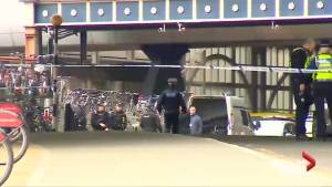 Bombs sent to London airports, rail station