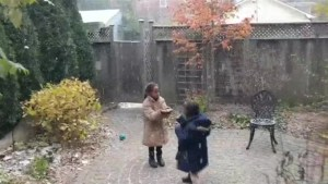 Family shares first snow experience