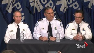 Montreal Police Chief addresses police scandal