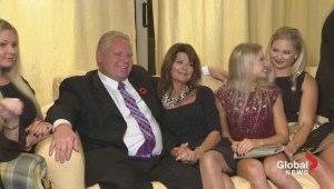 Toronto Election: Ford family reacts as mayoral race called for John Tory