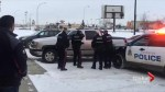 Dramatic takedown of truck theft suspect caught on video in west Edmonton
