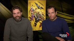 Will Arnett and Zach Galifinakis talk LEGO Batman