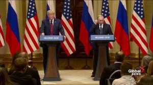 Trump praises Putin as a 'good competitor' on German pipeline deal