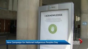 New Indigenous awareness campaign begins on bus shelters across GTA