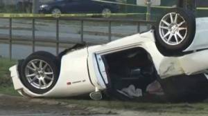 Serious rollover in PoCo affects both traffic and transit