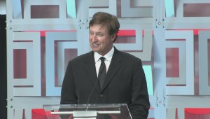 RAW VIDEO: Wayne Gretzky speaks at opening of Oilers' new arena