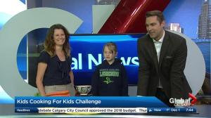 Learn more about the Kids Cooking for Kids Challenge