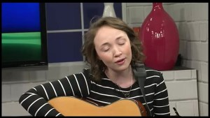Soft-spoken musician/singer/songwriter Mary-Kate Edwards mesmerizes The Morning Show with a  delicate , soulful performance.
