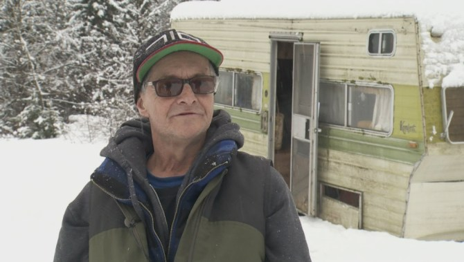 Homeless in the snow? Long-time Whistler resident fears losing his trailer