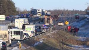Victim of Hwy. 401 crash tells her story of survival