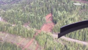 Saskatchewan couple caught in B.C. landslide