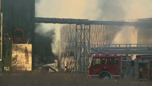 Lumby area plant shutdown by fire