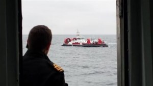 Whale watchers evacuated after fire on boat