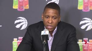 Ujiri: Next coach of the Raptors needs to be heard 'by the players'