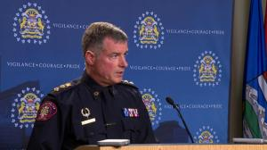 Calgary police issue statement on officer-involved shooting