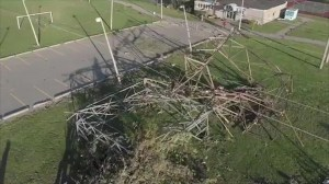 Drone video shows extent of damage in Ottawa neighbourhood following tornado