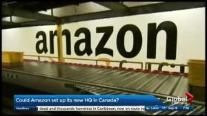 Canadian cities eager to bid for Amazon's new HQ