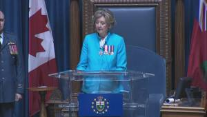 Manitoba's Conservative gives first throne speech