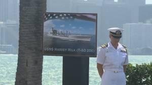 U.S. Navy names ship after gay rights activist Harvey Milk