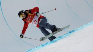 How a skier who can hardly jump made it to the Olympic halfpipe