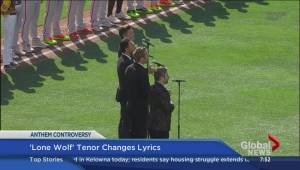 Social media reaction to Tenor changing Canadian anthem lyrics