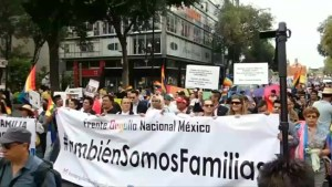 Raw video: Hundreds march in Mexico City in opposition to same-sex marriage