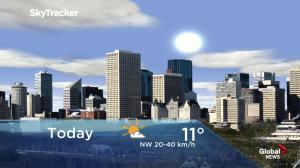 Edmonton early morning weather forecast: Thursday, April 25, 2019