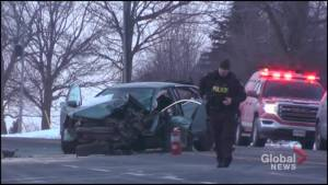 One seriously injured in Highway 35 head-on collision south of Lindsay, Ont.