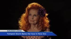 Legendary Burlesque dancer Tempest Storm shares story in new documentary