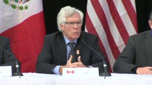 Minister Carr outlines specifics of Canada, Mexico, and US climate change memorandum