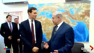 Jared Kushner meets with Benjamin Netanyahu in Israel