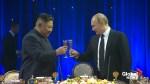 North Korea's Kim Jong Un says peace depends entirely on U.S. attitude: state media