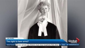 Did former Prime Minister Kim Campbell mean well with her 'sleeveless' comments?