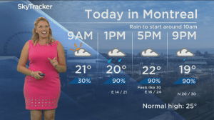 Global News Morning weather forecast: Friday, August 17