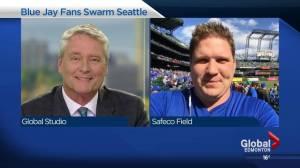 Fort Saskatchewan man among flock of Blue Jays fans in Seattle