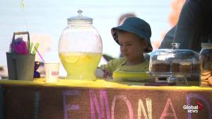 Simply Supper Helps Lemonade Stand Day helps sick Edmonton kids