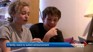 Toronto family reacts to Ford government's autism announcement