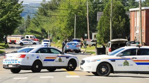 A timeline of the Fredericton shooting that killed 4 people, including two officers