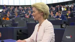 First female president of European Commission says her election is 'confidence in a strong Europe'