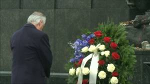 'We must remember what happened there': Tillerson visits Holocaust memorial in Poland