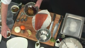 Chef previews menu at new Canmore hotel