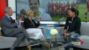 Olympian Christine Sinclair is taking on MS