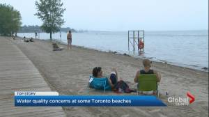 Concerns over Toronto beach water