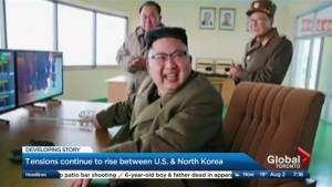 Is the U.S. preparing for war against North Korea?
