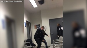 Cellphone video captures man shot inside Quebec courthouse after altercation with authorities