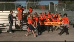 Frontenac students wear orange shirts to raise awareness about the history of residential schools