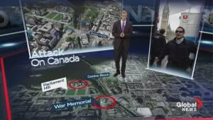 A virtual walk through of the daring attack in Ottawa